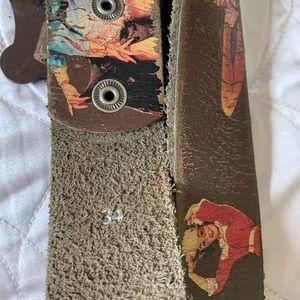 Accessories - Western belt, western pinup girls